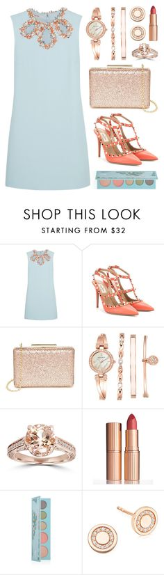 """""""Despite the forecast, live like it's Spring..."""" by lgb321 ❤ liked on Polyvore featuring Miu Miu, Valentino, Lulu*s, Anne Klein, Charlotte Tilbury, Astley Clarke, women's clothing, women's fashion, women and female"""