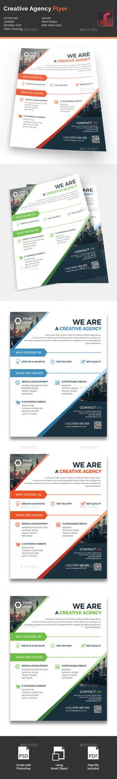 Creative Agency Flyer - Corporate Flyers | Download…