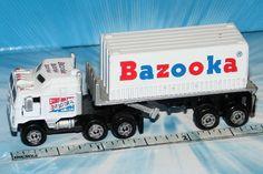 MICRO MACHINES SEMI SHAKE & SNIFF BAZOOKA BUBBLE GUM RARE #Galoob