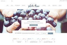 Portfolio eCommerce Genesis theme Ju by Lovely Confetti on @creativemarket
