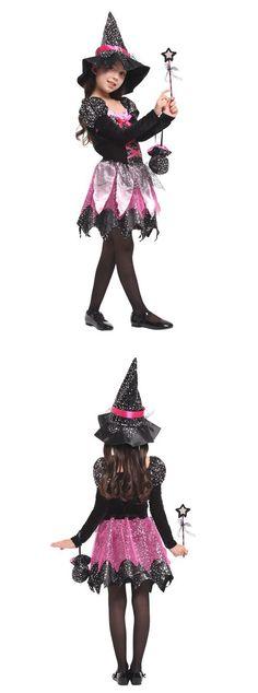 kids halloween witch halloween costumes for girlscheap cosplay dress for little girls