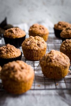 super moist Carrot Cake Muffins are soft and beyond delicious. Carrot Cake Muffins Recipe by Also The Crumbs Please Mini Carrot Cake, Moist Carrot Cakes, Carrot Cake Muffins, Best Carrot Cake, Mini Muffins, Mini Desserts, Dessert Recipes, Cake Recipes, Dessert Ideas
