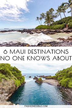 6 Maui Places Have Never Seen Before Trip To Maui, Hawaii Vacation, Vacation Spots, Maui Honeymoon, Italy Vacation, Maui Travel, Travel Usa, Travel Tips, Canada Travel