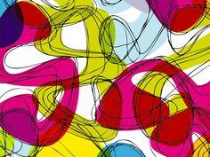 Graphic by Karim Rashid, Blobulous White Karim Rashid, Abstract, Artwork, Graphics, Interior, Design, Murals, Icons, Plastic Resin