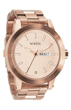 Nixon 'The Spur' Bracelet Watch