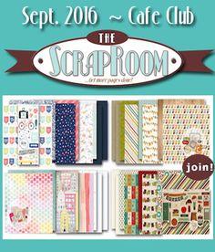 Monthly Scrapbooking Layout Kit Club at The ScrapRoom - www.scrap-room.com  #scrapbookkits #thescraproomkits #thescraproom #scrapbooking