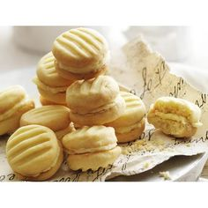 Melting moments recipe - By Australian Women's Weekly, Melting moments are so called for a reason. They are but for a moment on the plate, and then these delectable little biscuits are melting in your mouth. Your guests will need no encouragement to have a second.