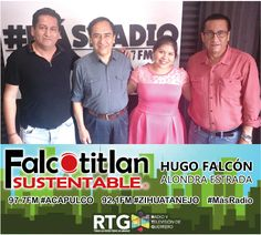 ¡Sintoniza Falcotitlan SUSTENTABLE!       A partir de las 2PM  97.7FM