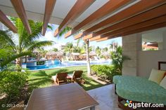 The Junior Swim Up Suite Pool View at the Excellence Playa Mujeres