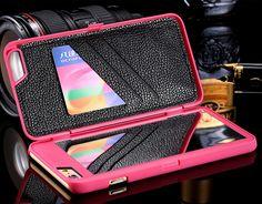 iPhone 6 Plus, 6 - Handy Makeup Mirror & Card Hideaway Case in Assorted Colors