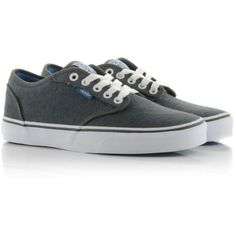 Vans Atwood Lo Glitter ($64) ❤ liked on Polyvore