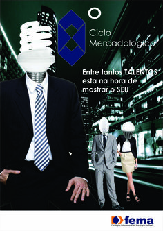 Matéria: Planejamento Gráfico - Trabalho de 2012, para o Ciclo Mercadológico da Fema.  2º CSPP