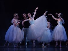 "OBC performing ""Giselle"" in 2001."