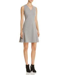 T Tahari Skyler Asymmetric Seam Dress