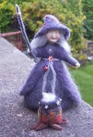 Needle-felted Witch - Google Search