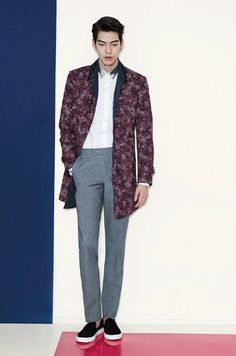 Kim Woo Bin For Sieg Fahrenheit s/s 2015 Lee Hyun Woo, Lee Jong Suk, Korean Celebrities, Korean Actors, Asian Actors, Celebs, Choi Daniel, Sung Joon, Park Bo Gum