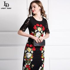 Women Elegant Long Sleeve Floor Length Voile Lace Patchwork Party Long Dress Like and Share if you want this http://www.storeglum.com/product/ld-linda-della-women-elegant-long-sleeve-floor-length-voile-lace-patchwork-party-long-dress #shop #beauty #Woman's fashion #Products