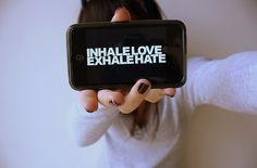 Inhale, exhale.
