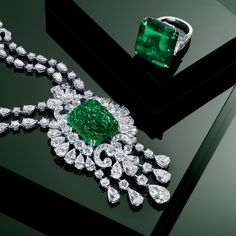 Graff diamonds | Graff Diamonds/ I've always wanted an Emerald ring. Maybe one day...