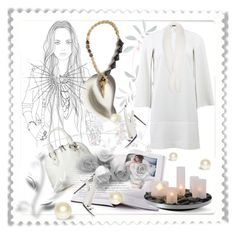 """""""Sibarú Necklace. Christmas Contest!!!"""" by ilona-828 ❤ liked on Polyvore featuring Philippi Design, Givenchy, Harrods, polyvoreeditorial, cocreation, sibaru and Sibarucontest60"""