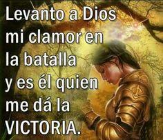 Levanto a Dios...