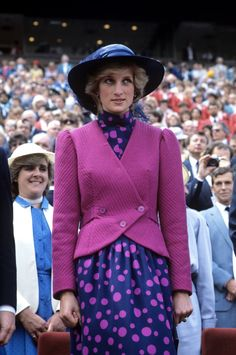 Diana, Princess of Wales with long time Lady-in-Waiting Anne Beckwith Smith, 1983.