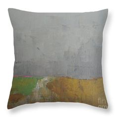 Evening Fields Throw Pillow for Sale by Vesna Antic
