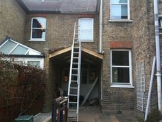 side return extension in Kew which was within permitted development handy that the neighbour had already built the party wall