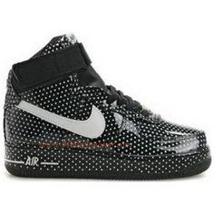 new arrival 16657 ef0e4 Nike Air Force 1 High Supreme Polka Dots Navy White C01007 Air Jordan, Jordan  Shoes