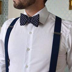 I'm definitely fine with guys with bow ties and suspenders