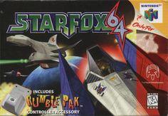 Starfox for Nintendo 64.  Classic. Super Nintendo, Nintendo 64 Games, Nintendo N64, Arcade Games, Games Box, Old Games, Pac Man, Donkey Kong, Video Game Art