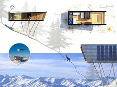 Eco-Temporary Refuge / CiminiArchitettura | ArchDaily