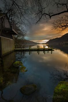 To see how this image was made click the following link: https://youtu.be/qYp1TxhQxPw  I recently went to Ullswater in the Lake District National Park to photograph the daffodils, made famous by the great William Wordsworth. However, en-route, I got distracted by an early morning lakeside scene and headed down to the shore to find this lovely scene. Ullswater I find is not the easiest place to get good shots from, but for once I was really pleased with this one...and I've n...