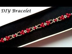 How to make elegant bracelet. Holiday gift idea - YouTube