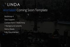 Linda - Coming Soon Template by next-item on @creativemarket