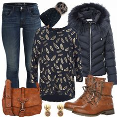 Federleicht Outfit - Herbst-Outfits bei FrauenOutfits.de