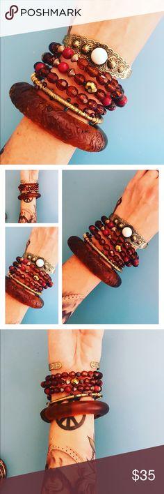 ❤️BOHO VINTAGE BRACELET BANGLES BRACELET SET❤️ ❤️BOHO VINTAGE BRACELET BANGLES BRACELET SET❤️ perfect for gypsy lovers ✌🏼❤️✌🏼 Vintage Jewelry Bracelets