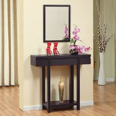 Small Entryway Console Table Home Improvement Style Espresso Consoles Tables Meijer Enitial Lab Garland Your Living Room Best Choice Small Entryway Console Table Inspiration Console Table Design Entryway Decor, Entryway Tables, Entryway Console, Entryway Ideas, Sofa Table Design, Contemporary Hallway, Contemporary Design, Modern Design, Sofa Tables