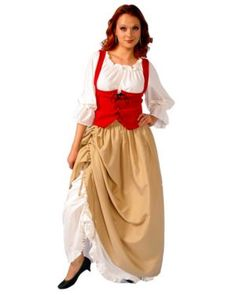 Adult Tavern Maiden Costume
