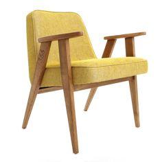 366 easychair in Mustard - LOFT collection.