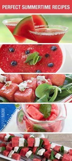 Nothing says summer more than these mouthwatering watermelon recipes!