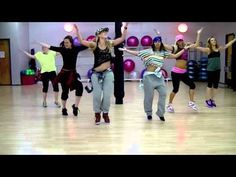 I challenge you to do this Zumba workout today... I love Sid Vicious log onto her You Tube Channel and check her out ... 22 awesome dance videos! 'Can't Hold Us' DANCE PARTY HUSTLE!