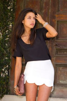Black & white outfit inspiration via Viva Luxury