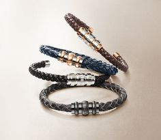 Montblanc's contemporary men's bracelet