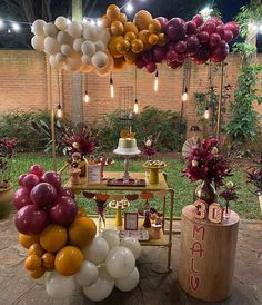 Birthday Balloon Decorations, Table Decorations, Balloon Arch, Balloons, Its My Bday, Party Entertainment, Garland, Birthday Parties, Backdrops