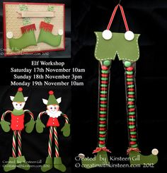 Elf Workshop - cute Holiday treats. Class in Katy TX