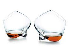 Whisky & Cognac Verres à Cognac et à Whisky de Rikke Hagen - Tools Design Topdeq - Mobilier & accessoires de bureau!
