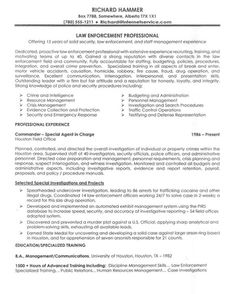 law enforcement resume objective httpgetresumetemplateinfo3225law - Law Enforcement Resume Objective