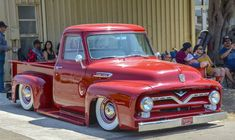 2018 Ventura Nationals, Ventura, CA. 56 Ford Truck, F100 Truck, Ford Pickup Trucks, American Pickup Trucks, Vintage Pickup Trucks, Classic Pickup Trucks, Hot Rod Trucks, New Trucks, Cool Trucks