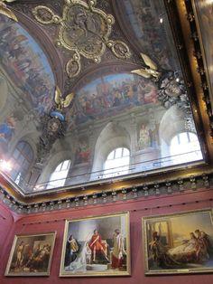 Ceiling of the Louvre - Paris